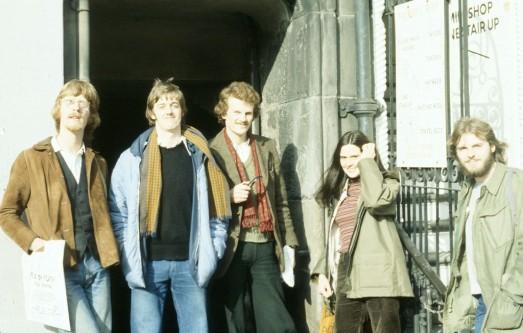 Caedmon in Edinburgh c1977
