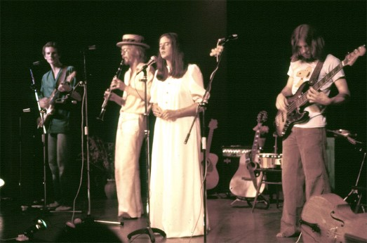 Caedmon on stage (c1977)