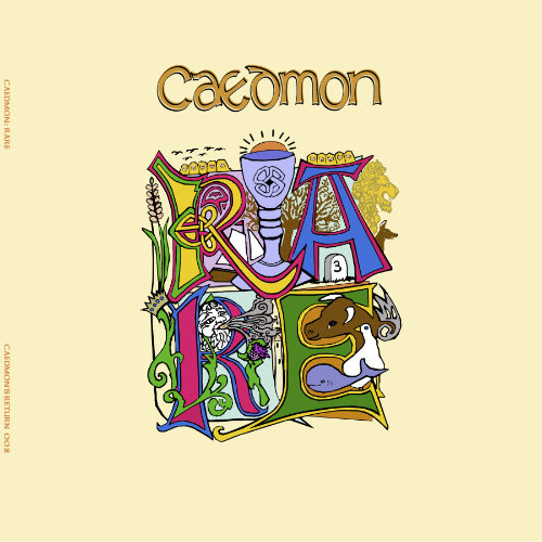 Caedmon Rare album sleeve art